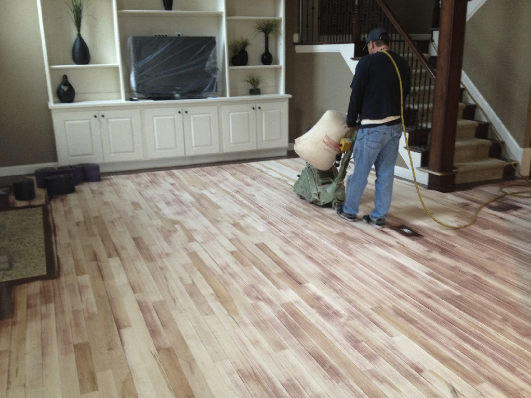 Hardwood floor refinishing services in hoover al for Resurfacing wood floors